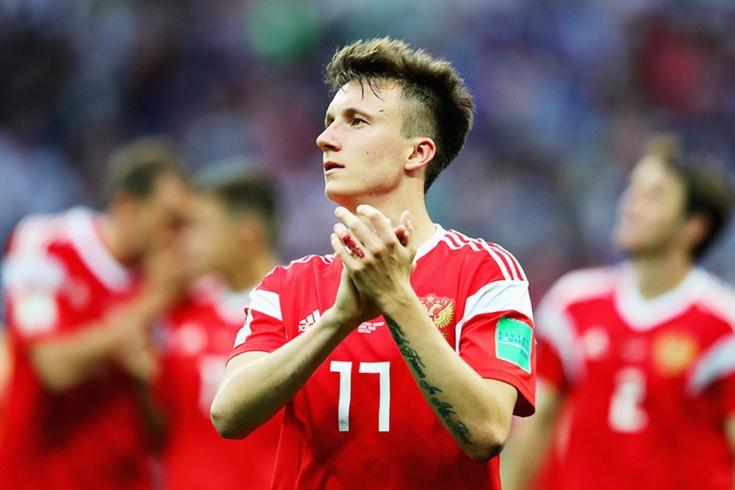 Александр Головин, сборная России по футболу