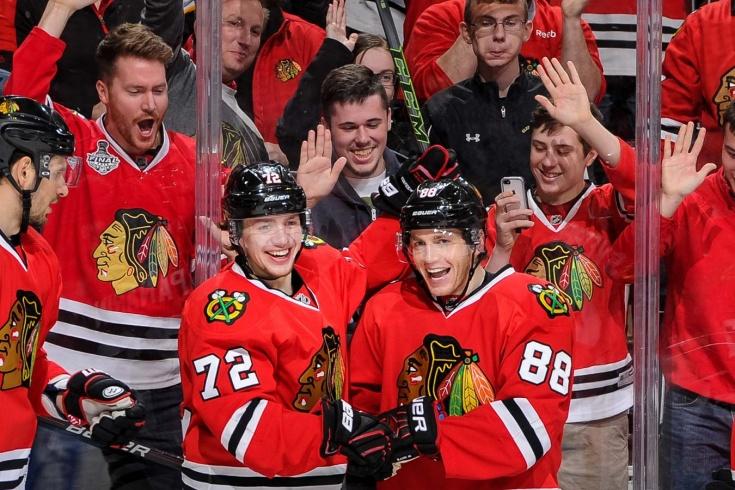 «Самый весёлый хоккей в жизни». Как Панарин и Кейн покоряли НХЛ