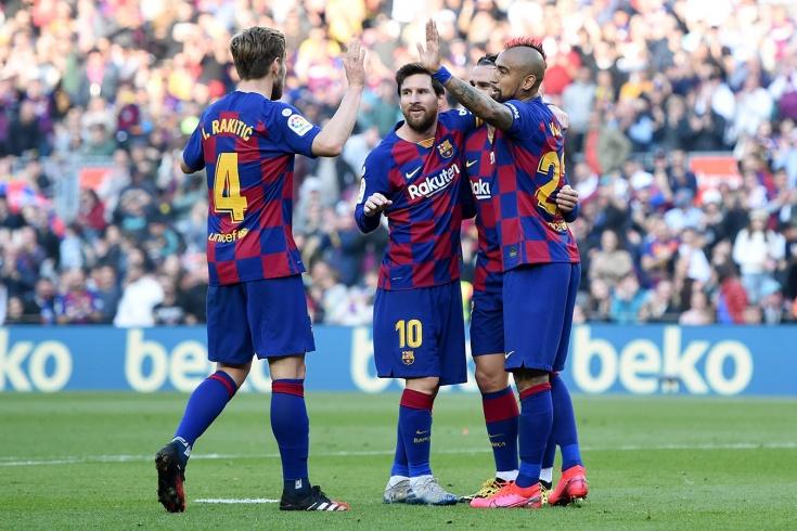 «Барселона» – «Эйбар» – 5:0, покер Лионеля Месси