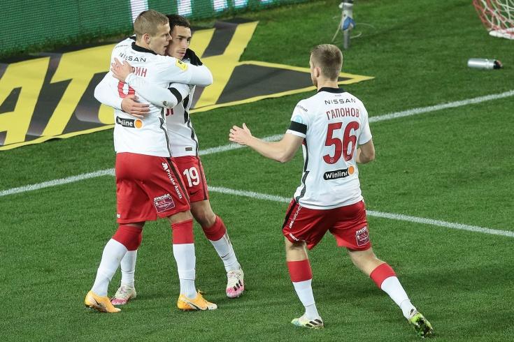 Первый гол Кокорина и дебют Мозеса. «Спартак» играл тайм, но этого хватило для победы