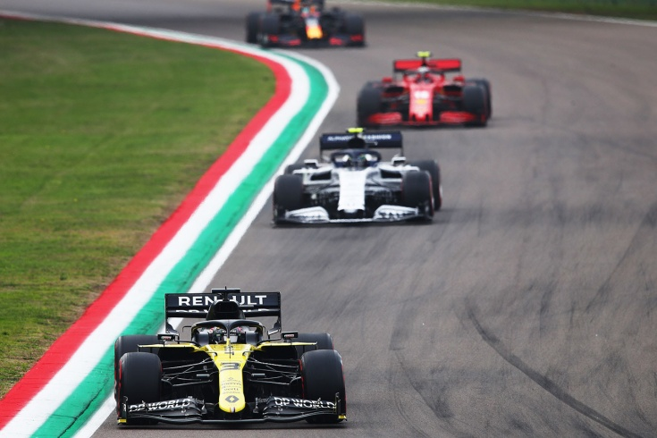 Лучшие обгоны в Формуле-1 в сезоне-2020