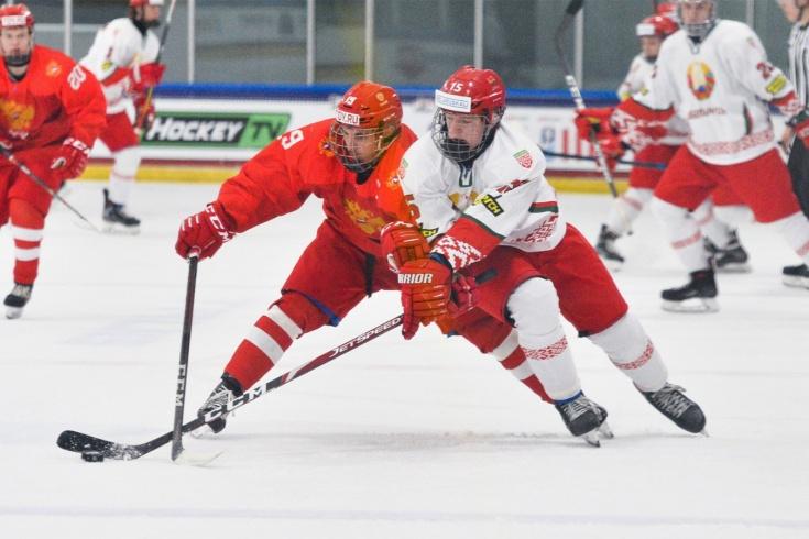Россия — Беларусь — 5:2, видео, голы, обзор матча юниорского чемпионата мира по хоккею