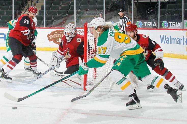 Капризов творит красоту в НХЛ. Забил гол недели, а ещё сделал шикарный пас между ног