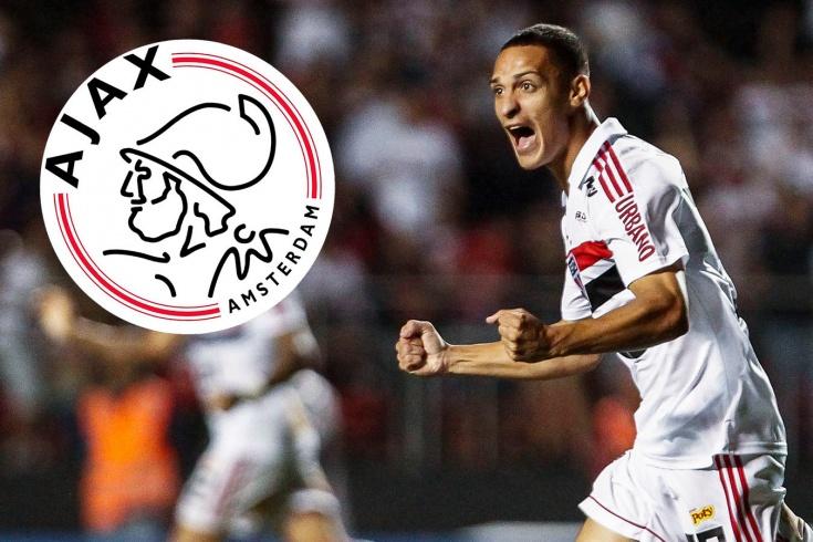 «Аякс» не скрывает интереса к игроку «Сан-Паулу»