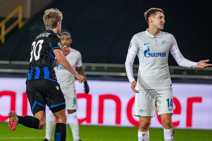 «Брюгге» – «Зенит» – 3:0, видео, голы, обзор матча, 2 декабря 2020 года, Лига чемпионов