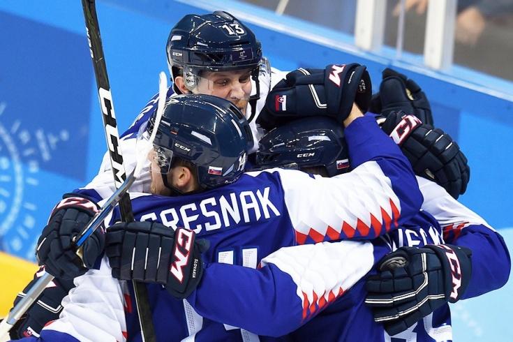 ОИ-2018. Словакия – Россия – 3:2