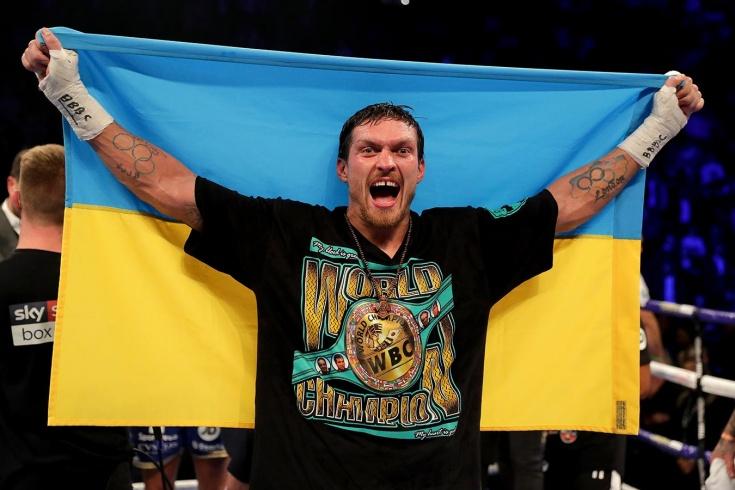 Украинский боксёр Александр Усик может подраться с вызвавшим его через интернет борцом