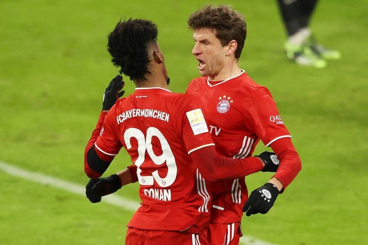 «Бавария» — «Лейпциг» — 3:3, голы, дубль Мюллера, Мусиала и обзор матч