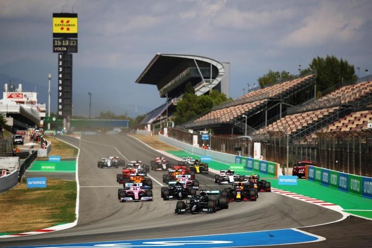 Хэмилтон выиграл Гран-при Испании