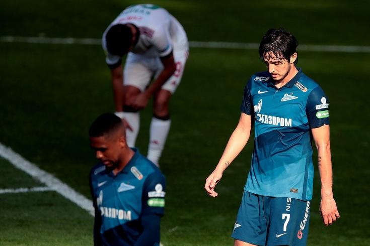 Чемпиона будто подменили. «Зенит» снова не забил и упустил лидерство