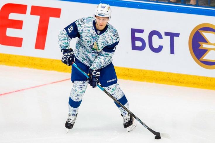 Русские хоккеисты, вернувшиеся из Америки