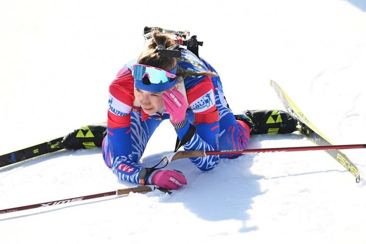 Женская сборная России по биатлону стала седьмой в эстафете на этапе Кубка мира – 2020/2021 в Чехии