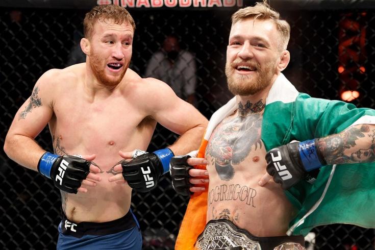 Джастин Гэтжи пригрозил Дане Уайту уходом из UFC, если бой за пояс с Порье дадут Конору Макгрегору