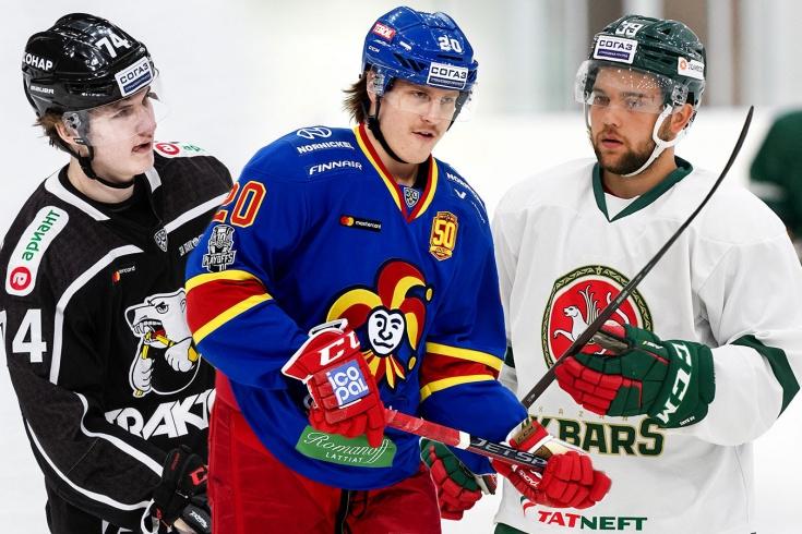Хоккеисты, отправленные в аренду из НХЛ в КХЛ