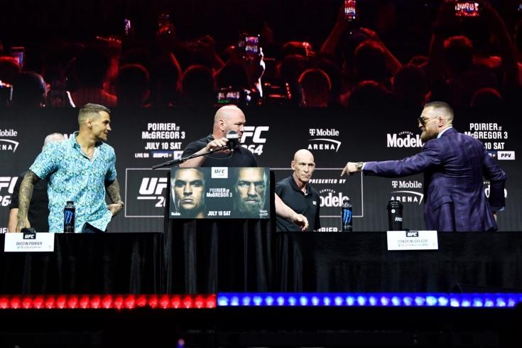 UFC 264 Дастин Порье – Конор Макгрегор 3, пресс-конференция перед боем, видео