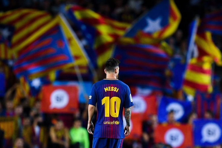 Как Месси дебютировал за «Барселону»