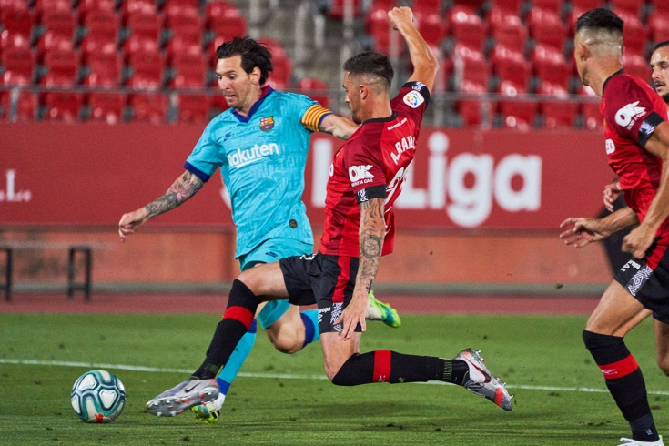 «Мальорка» — «Барселона» — 0:4 – Месси, Брайтвайт, голы и обзор матча