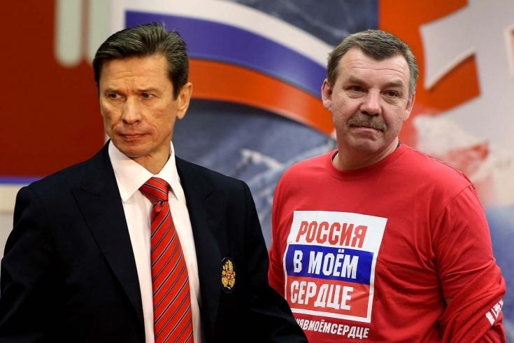 Дуэт Быков — Знарок и авторитетные помощники. Каким должен быть штаб сборной России на ОИ