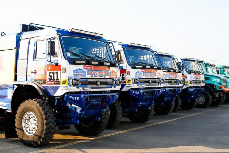 «КАМАЗ» лидирует после первого этапа ралли «Дакар»