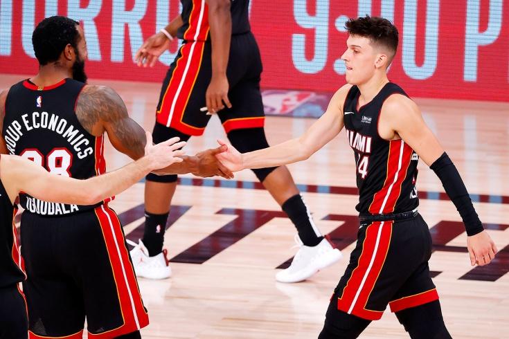 Новичок «Майами» Тайлер Хирроу серией рекордов помог обыграть «Бостон» в плей-офф НБА