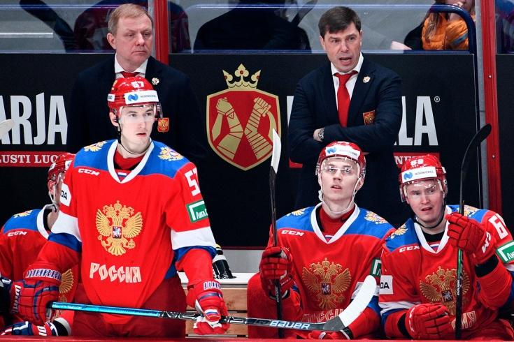 Россия – Финляндия – 3:4