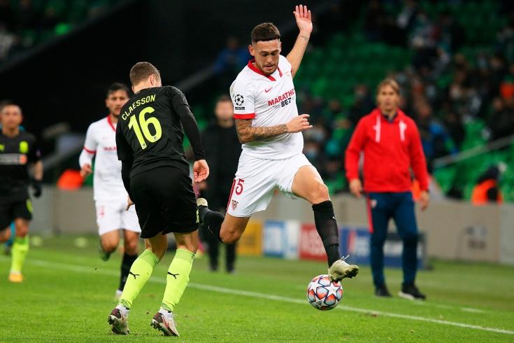 «Краснодар» – «Севилья» – 1:2, обзор матча Лиги чемпионов, 24 ноября 2020 года