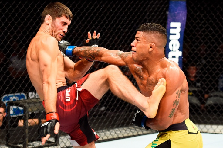 Камару Усман – Гилберт Бёрнс на UFC 258, нокаут Дуриньо, видео
