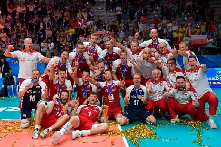 Мужская сборная Польши по волейболу