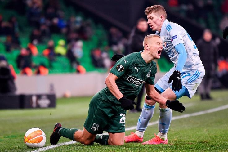 Россия падает в таблица коэффициентов УЕФА. «Краснодар» не помог рейтингу страны