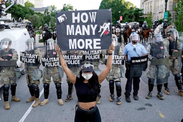 Беспорядки в США в 2020 году, реакция бойцов