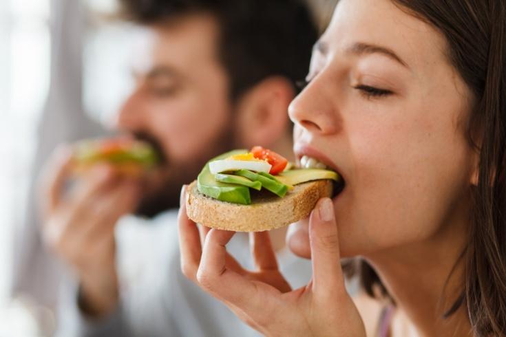 Как приготовить полезный бутерброд