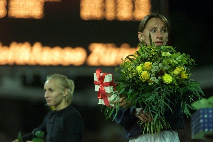 Российская бегунья Ольга Егорова