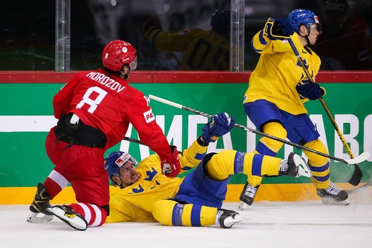 Россия – Швеция на ЧМ-2021