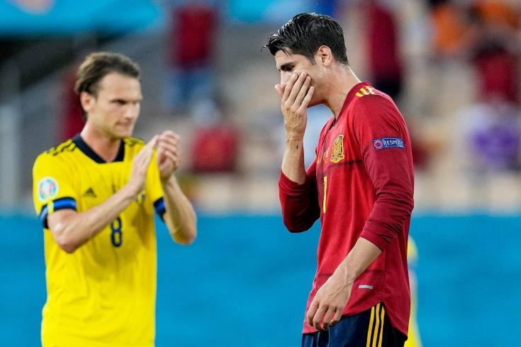 Испанские фанаты освистали своего игрока за промах