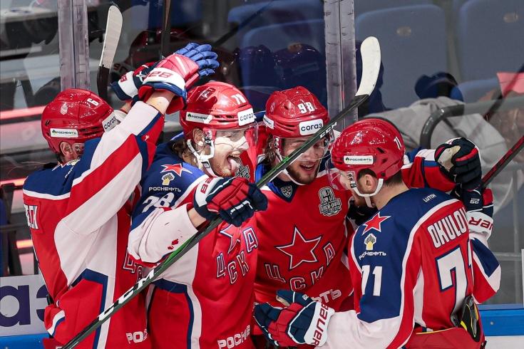 ЦСКА – «Локомотив» – 3:2, второй раунд плей-офф КХЛ, сезон-2020/2021, отчёт и видео