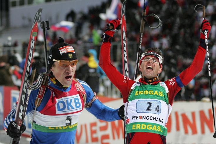 История громкого биатлонного скандала – Бьорндален срезал трассу и отобрал золото у Чудова