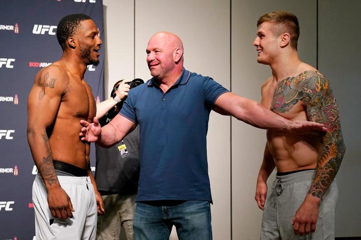 Боец UFC Веттори набросился на соперника после новости об отмене боя