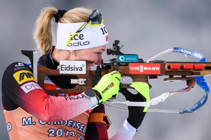 Чемпионат мира по биатлону 2020 – норвежка сломала винтовку и рыдала