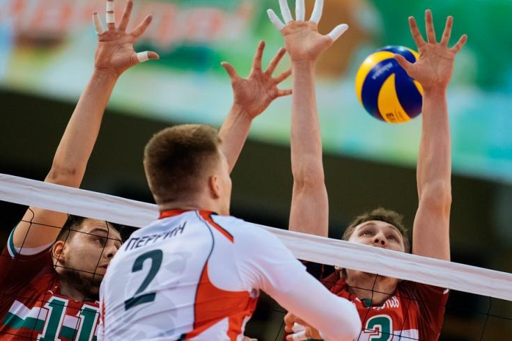 «Локомотив» (Новосибирск) — «Белогорье» — 0:3