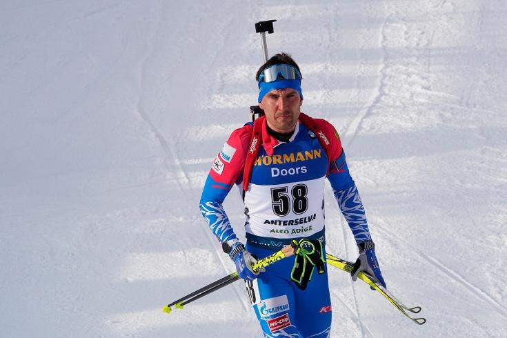 Неудача мужской сборной России по биатлону в гонке преследования: Гараничев – 14-й, Логинов – 21-й
