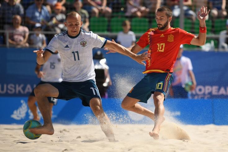 Сборная России по пляжному футболу