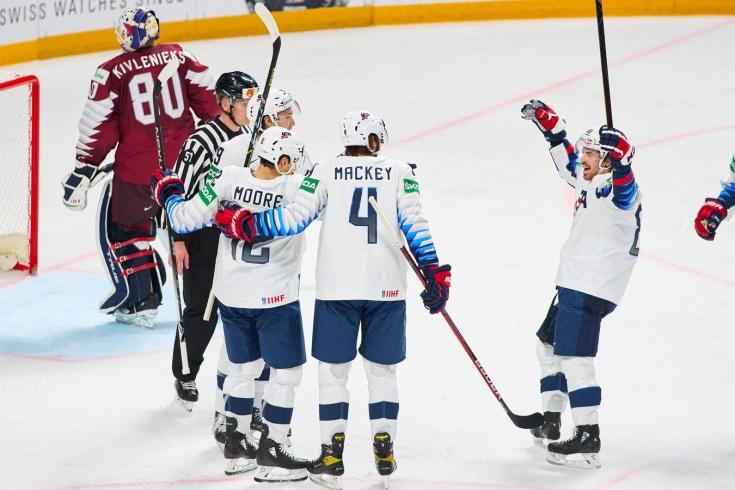 Американцы выиграли и вошли в зону плей-офф ЧМ. Латвия скоро оттуда вылетит?