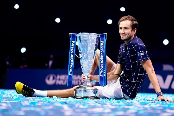 Итоговый турнир ATP, Даниил Медведев – чемпион! Он победил Доминика Тима и заработал 120 млн рублей