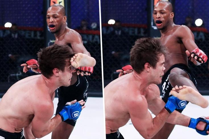 Майкл Пейдж разбил нос Дереку Андерсону и победил на турнире Bellator 258, видео