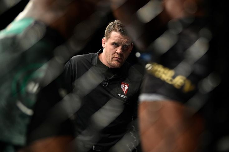 Нокаутировал соперников и не боится Макгрегора. Марк Годдард — топ-судья UFC. Видео