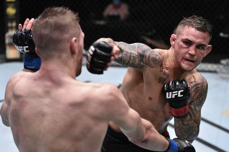 Дастин Порье — Дэн Хукер, видео боя UFC Vegas 4