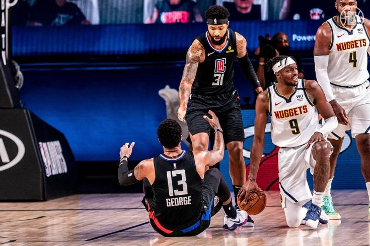 «Клипперс» установили антирекорд в истории спорта США, проиграв «Денверу» в плей-офф НБА