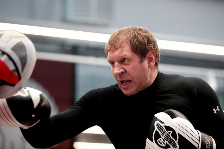 А. Емельяненко объявил, что идёт боксировать с Кад
