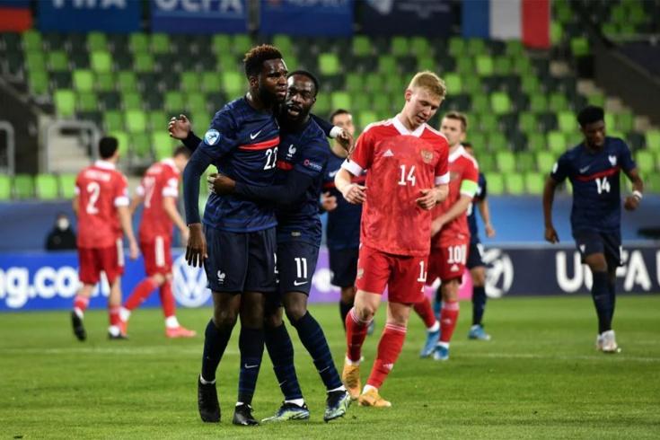 Россия – Франция – 0:2, видео, голы, обзор матча, 28 марта 2021 года, молодёжный Евро-2021