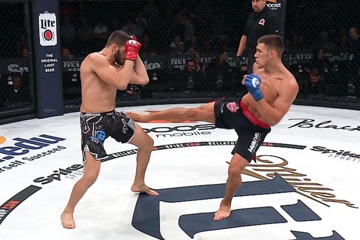 Вадим Немков нокаутировал Филипе Линса в дебютном бою Bellator, видео